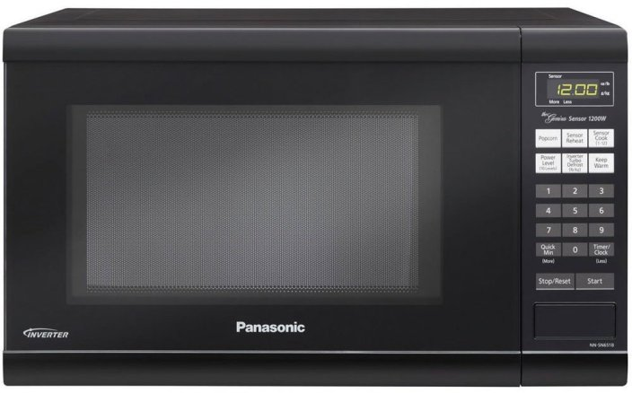 Panasonic 1.2 Cubic Feet Genius Sensor Microwave-sa;e-01