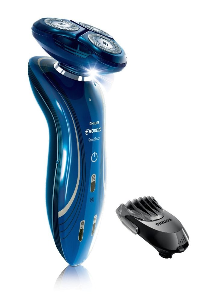 Philips Norelco Sensotouch 2D Electric Razor with Click-On Beard Styler-1150BT:48-sale-01