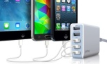 Photive Five-Port 25W USB Rapid Charger