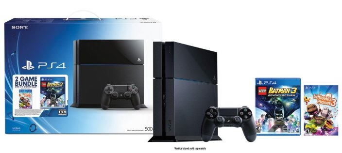 PlayStation 4 bundled with LittleBigPlanet 3 and LEGO Batman 3- Beyond Gotham-sale-01-Black-Friday