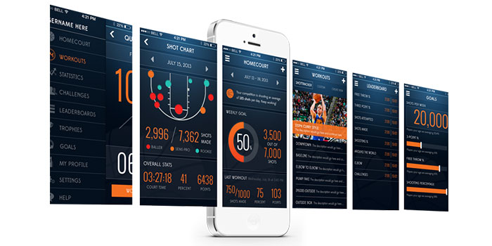 ShotTracker brings Bluetooth LE and data collection to your hoop game | 9to5Toys