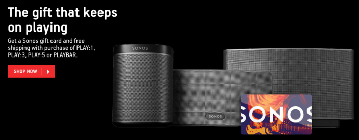 sonos-holiday-deal-free-gift-card