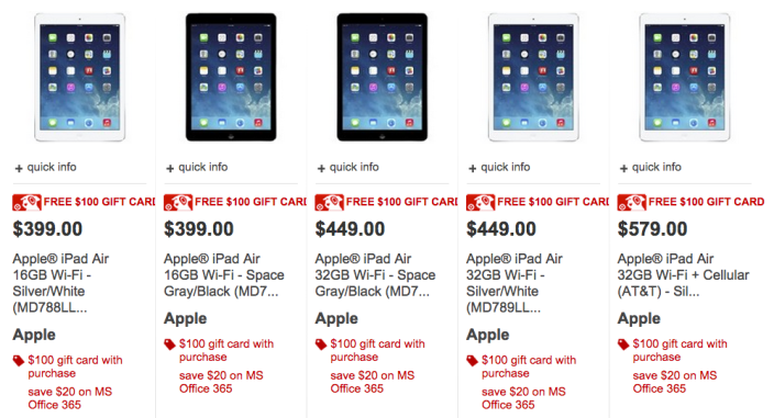 target-ipad-air-free-gift-card-black-friday-deal