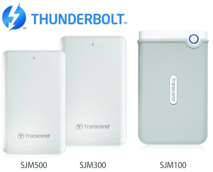 Transcend's StoreJet for Mac Series
