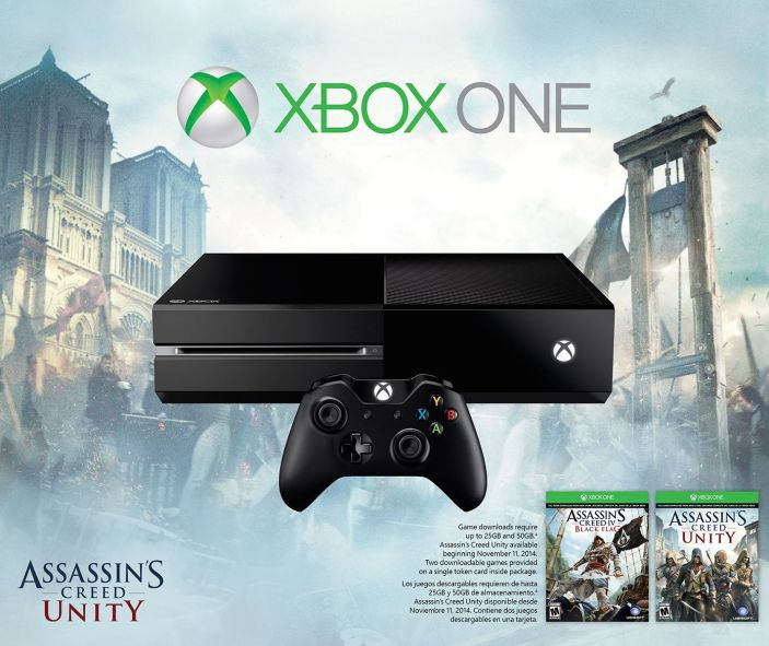 Xbox One-AC-Unity-bundle