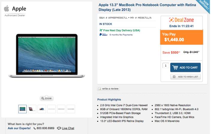 apple-macbook-pro-ME867LL:A-deal