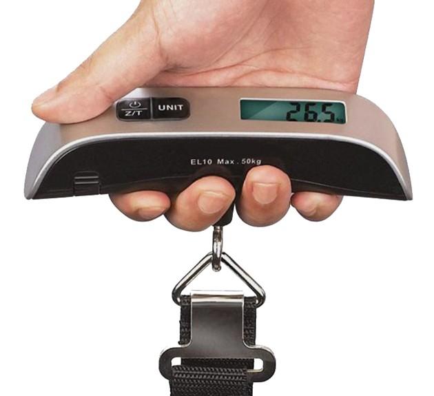 Baytek 110lb Digital Portable Luggage Scale w: LCD Display-sale-01