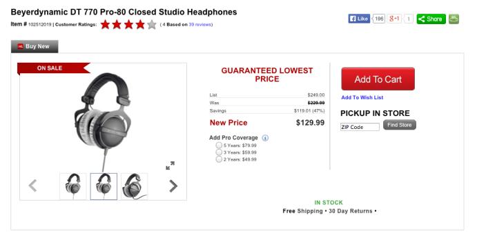 Beyerdynamic DT 770 PRO 80 ohms headphones-sale-02