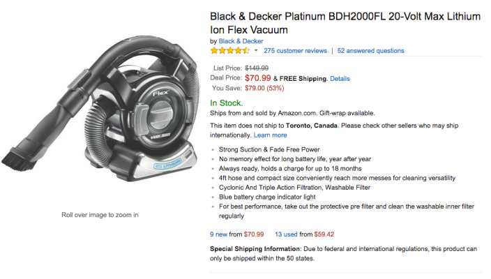 Black & Decker Platinum 20-Volt Max Lithium Ion Flex:hand Vacuum-BDH2000FL-sale-02