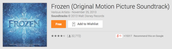frozen-soundtrack-google-play