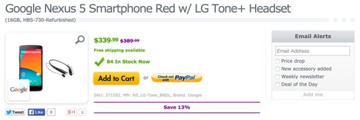 Google Nexus 5 D821 Smartphone