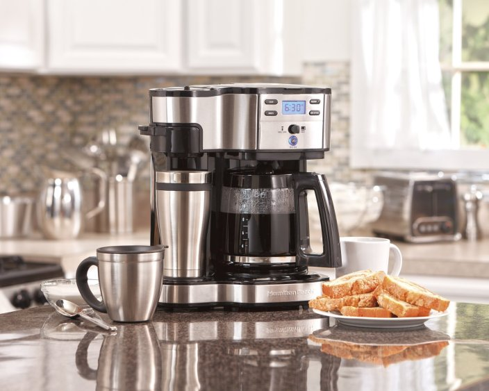 Hamilton Beach 2-Way Single Serve Brewer and Coffee Maker four (49980A)-sale-01