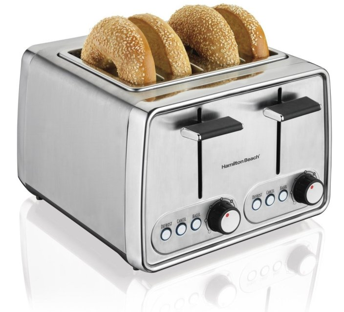 Hamilton Beach Modern Chrome 4-Slice Toaster (24791)-sale-01