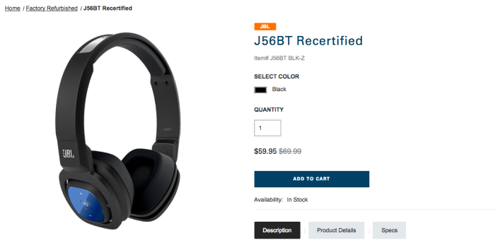JBL J56 BT Bluetooth Wireless On-Ear Stereo Headphone-sale-04