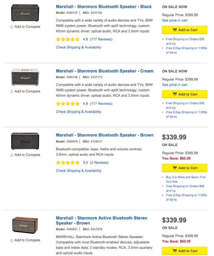 Marshall-Stanmore-speaker-sale