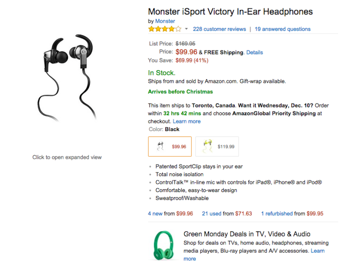 Monster iSport Victory In-Ear Headphones-sale-02