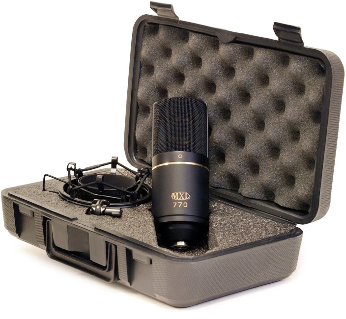 MXL 770 Cardioid Condenser Microphone-sale-02