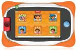 Nabi 16GB Nick Jr. Edition 5'' Tablet with Wings Education System, Nick Jr. Characters, Parental Controls, Tegra 3 Processor, 2MP Camera, WiFi, Bluetooth and Android 4.1 Jelly Bean