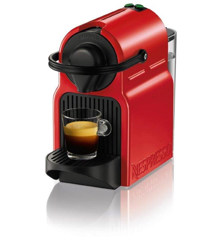 Nespresso Inissia Espresso Maker in Red-sale-01