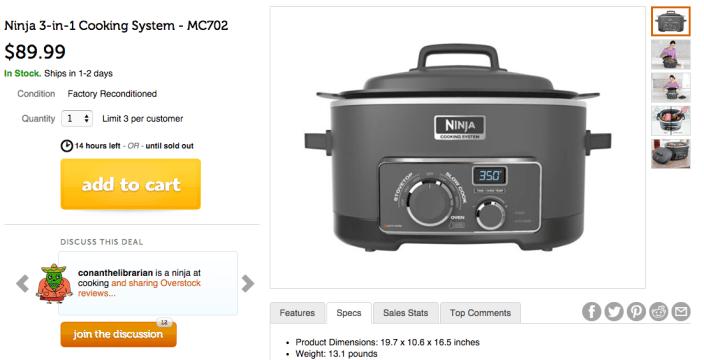 Ninja 3-in-1 Cooking System (MC702)-sale-02