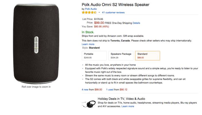 Polk Audio Omni S2 Wireless Speaker-sale-01