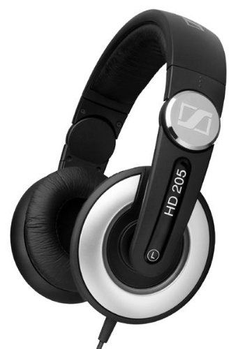 Sennheiser HD 205-II Studio Grade DJ Headphones (Black:Grey)-sale-01