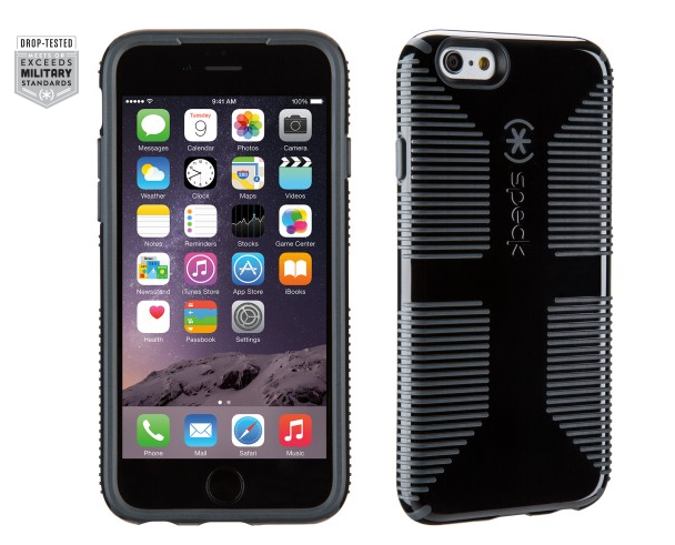 Speck Products CandyShell Grip Case for iPhone 6 in Black-sale-01