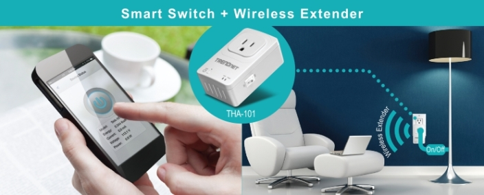 THA-101 Home Smart Switch with Wireless Extender-02