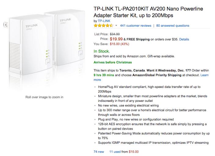 TP-LINK AV200 Nano Powerline Adapter Starter Kit-TL-PA2010KIT-sale-02
