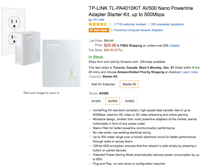 TP-LINK AV500 Nano Powerline Adapter Starter Kit (TL-PA4010KIT-sale-02