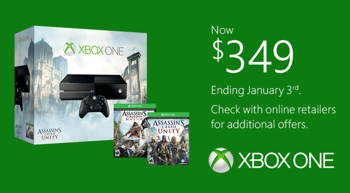 Xbox One-official price drop