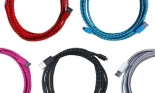 3D Luxe 10 Ft. MFi-Certified Apple Lightning Charge and Sync Fabric Cable