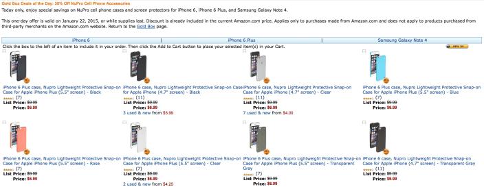 amazon-gold-box-nupro-iphone-cases