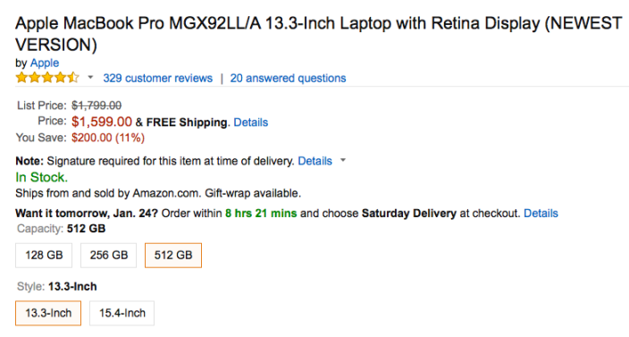 apple-macbook-retina-MGX92LL:A-amazon-deal