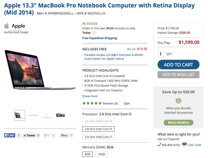 apple-macbook-retina-MGX92LL:A-BH-deal