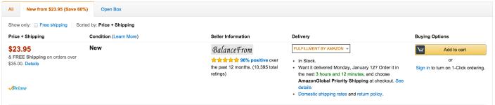 BalanceFrom High Accuracy Plus Digital Bathroom Scale-sale-02