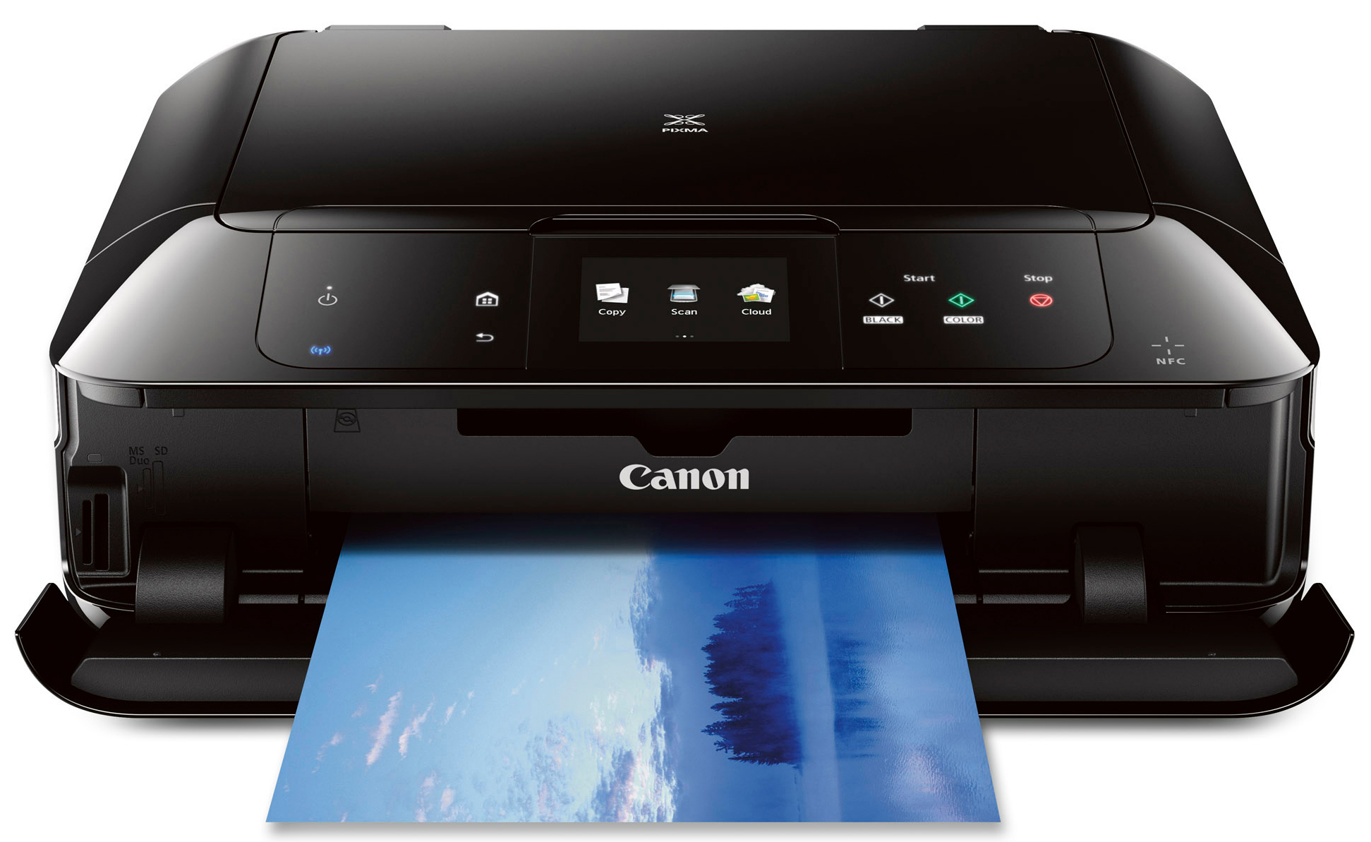 Canon Wireless Photo All-in-One Inkjet Printer w/ AirPrint + Adobe Photoshop Elements 12 $98 shipped ($239 value)