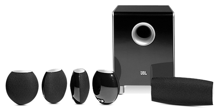 5.1 Channel Surround Sound Speakers: JBL CS480 $200 (Reg. $375), Harman Kardon HKTS 16 $190 (orig. $600)