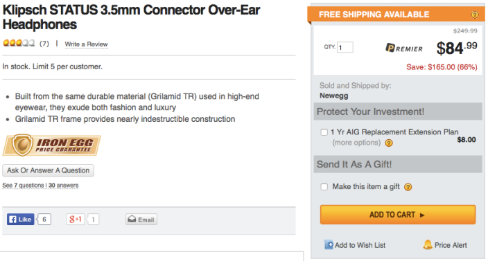 klipsch-status-headphones-deal