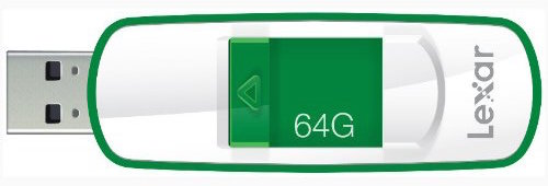 Lexar JumpDrive S73 64GB USB 3.0 Flash Drive