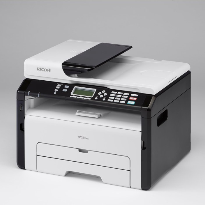 Ricoh SP 213SNw Monochrome Multifunction Wireless Laser Printer