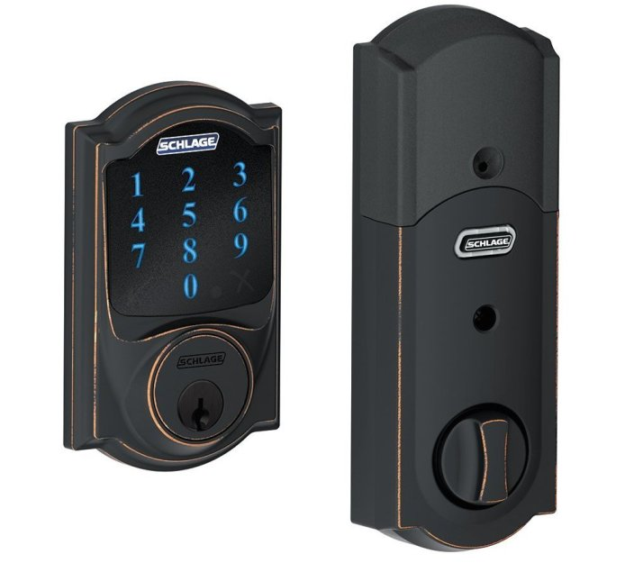 Schlage Connect Touchscreen Deadbolt with Built-In Alarm-sale-01