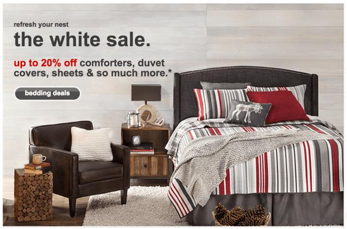 Target sitewide-sale-bed-bath