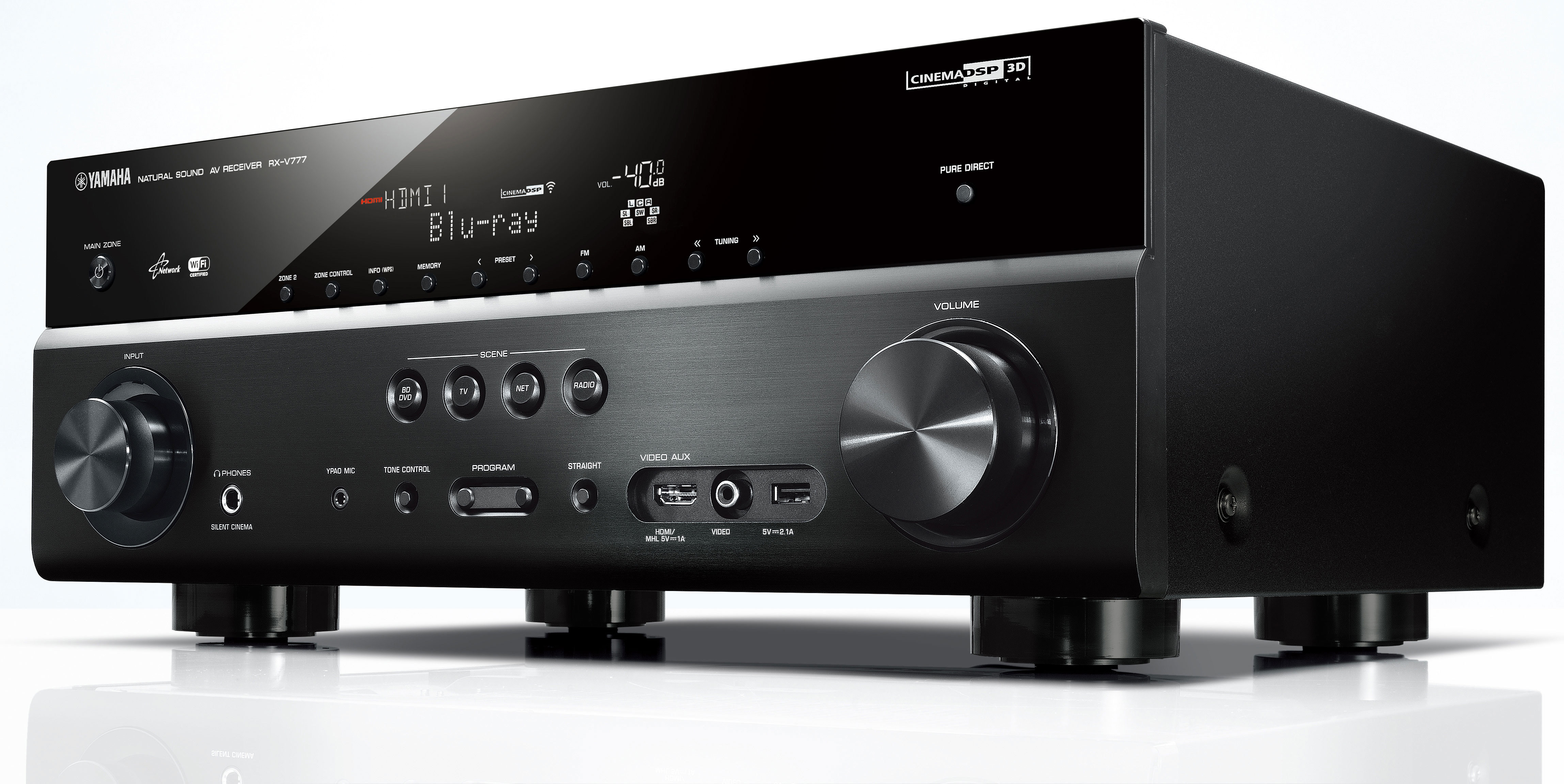 Yamaha 5.1-Channel 4K Network AV Receiver with Airplay $273 shipped (Reg. $350)