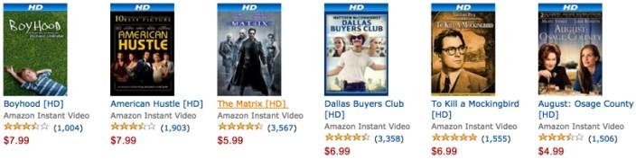 Amazon gold box movies