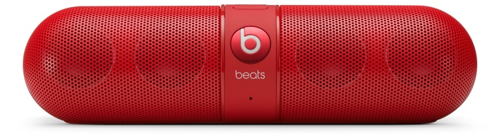 Beats Pill Portable Speaker in red-sale-05