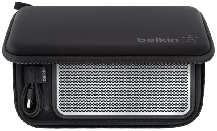 Belkin FUSIVE Slim Portable Bluetooth Speaker, Wireless in black:silver (B003PL0AME:G2A1000bkBLK)-sale-03