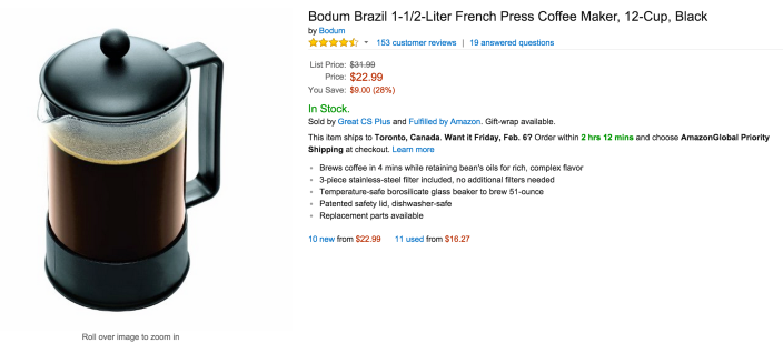 Bodum Brazil 1-1:2-Liter French Press Coffee Maker (12-Cup)-sale-02