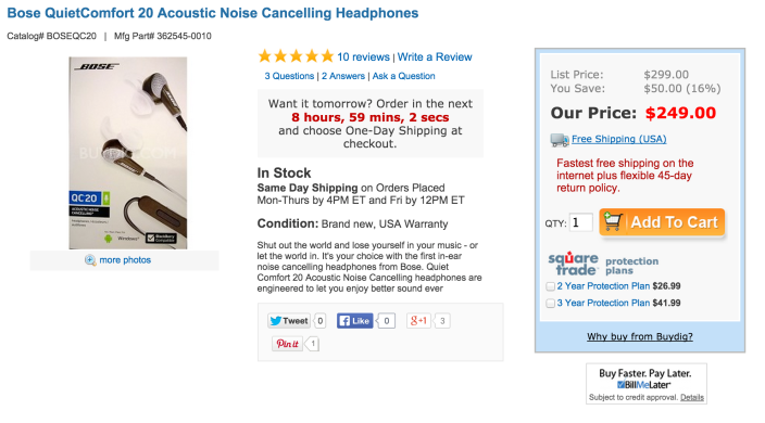Bose QuietComfort 20 Acoustic Noise Cancelling Headphones-sale-02