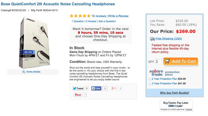 Bose QuietComfort 20 Acoustic Noise Cancelling Headphones-sale-03